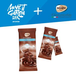 Socado Cioccolato sponsor e fornitore ufficiale della Move it Garda 21K Arcese